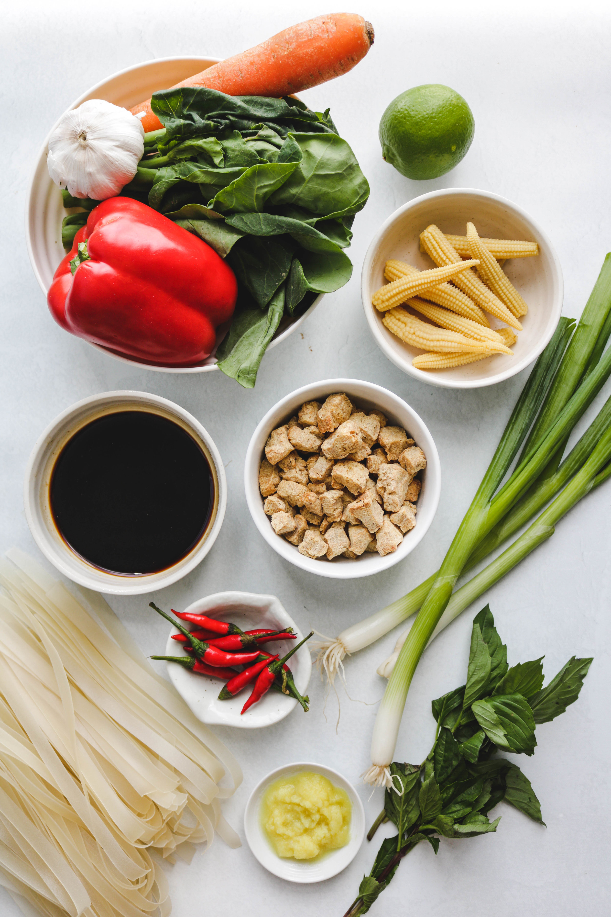 thai drunken noodle ingredients