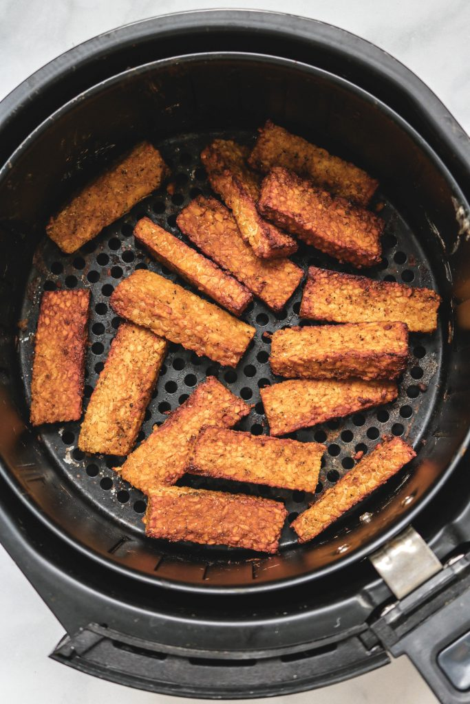 Smoky Airfryer Tempeh