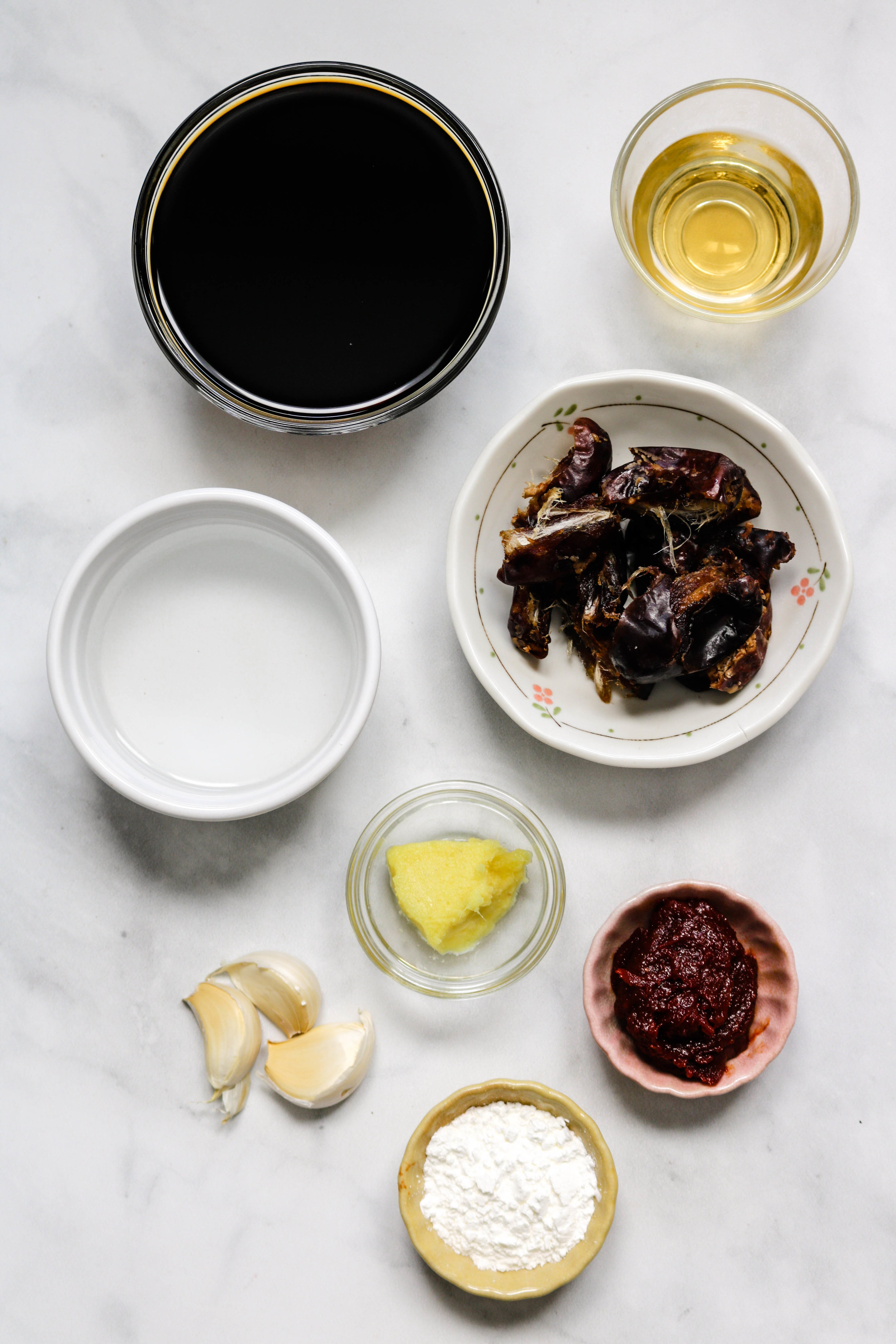 homemade korean BBQ sauce ingredients
