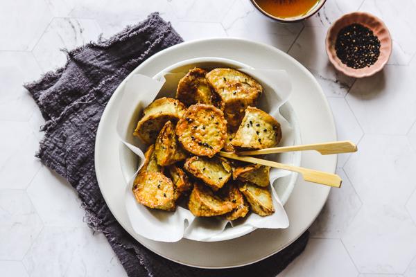 korean candied sweet potato