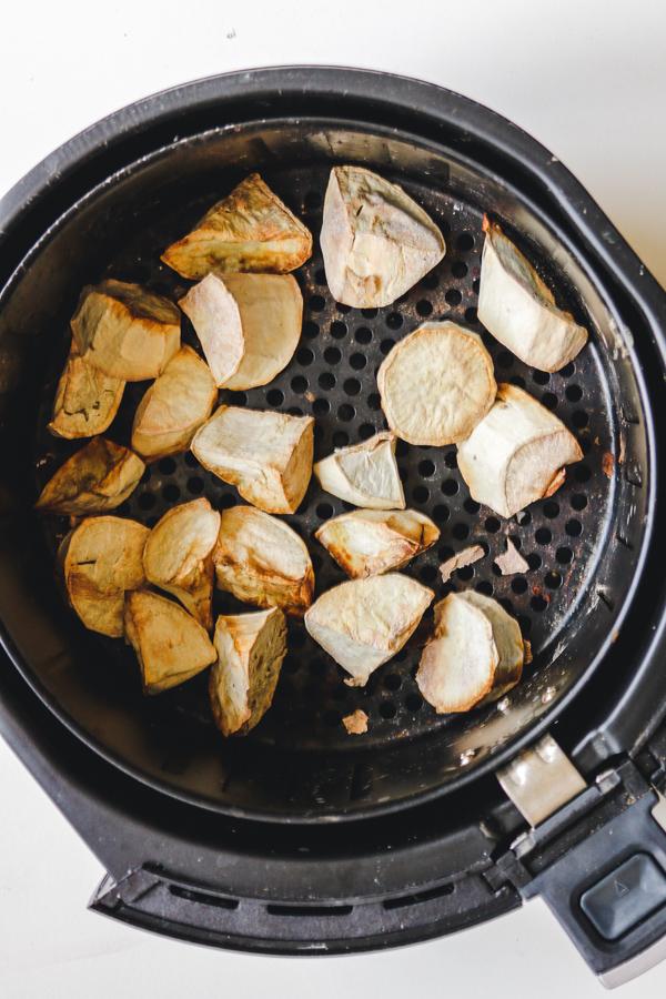 air fried sweet potatos