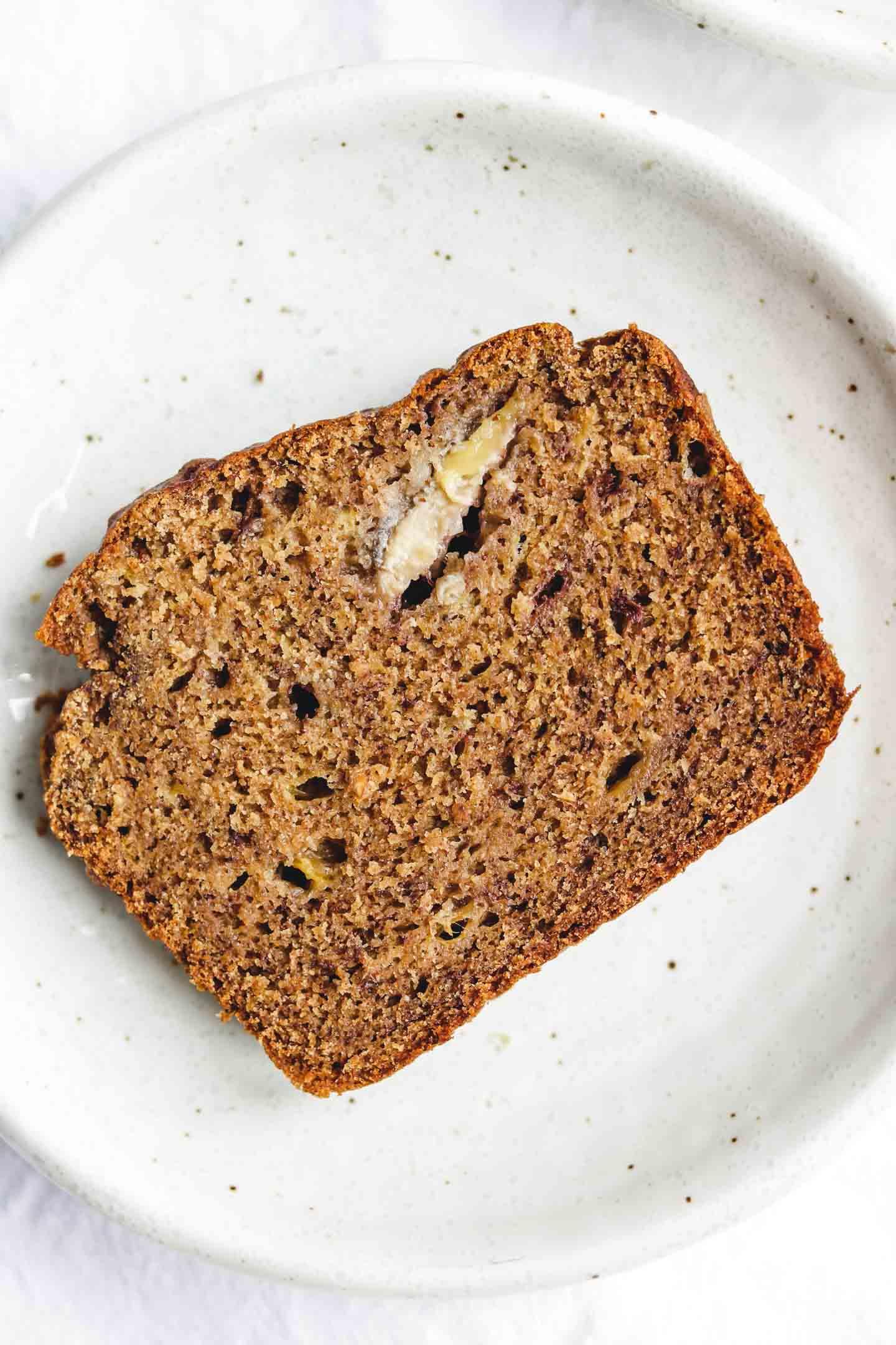 Easy Vegan Gluten Free Banana Bread Oil Free Refined Sugar Free Okonomi Kitchen