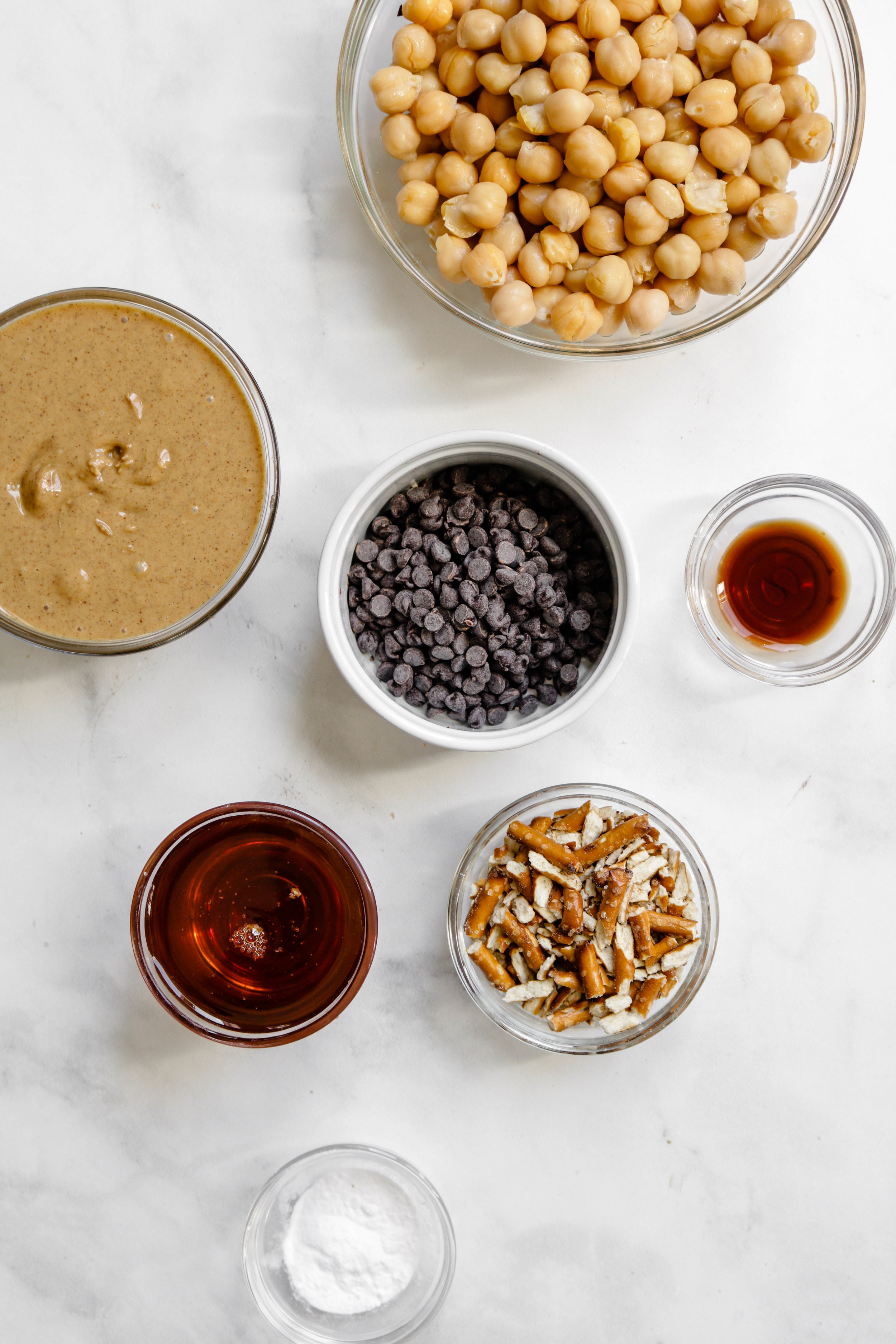 Chocolate Chip Chickpea Cookies ingredients
