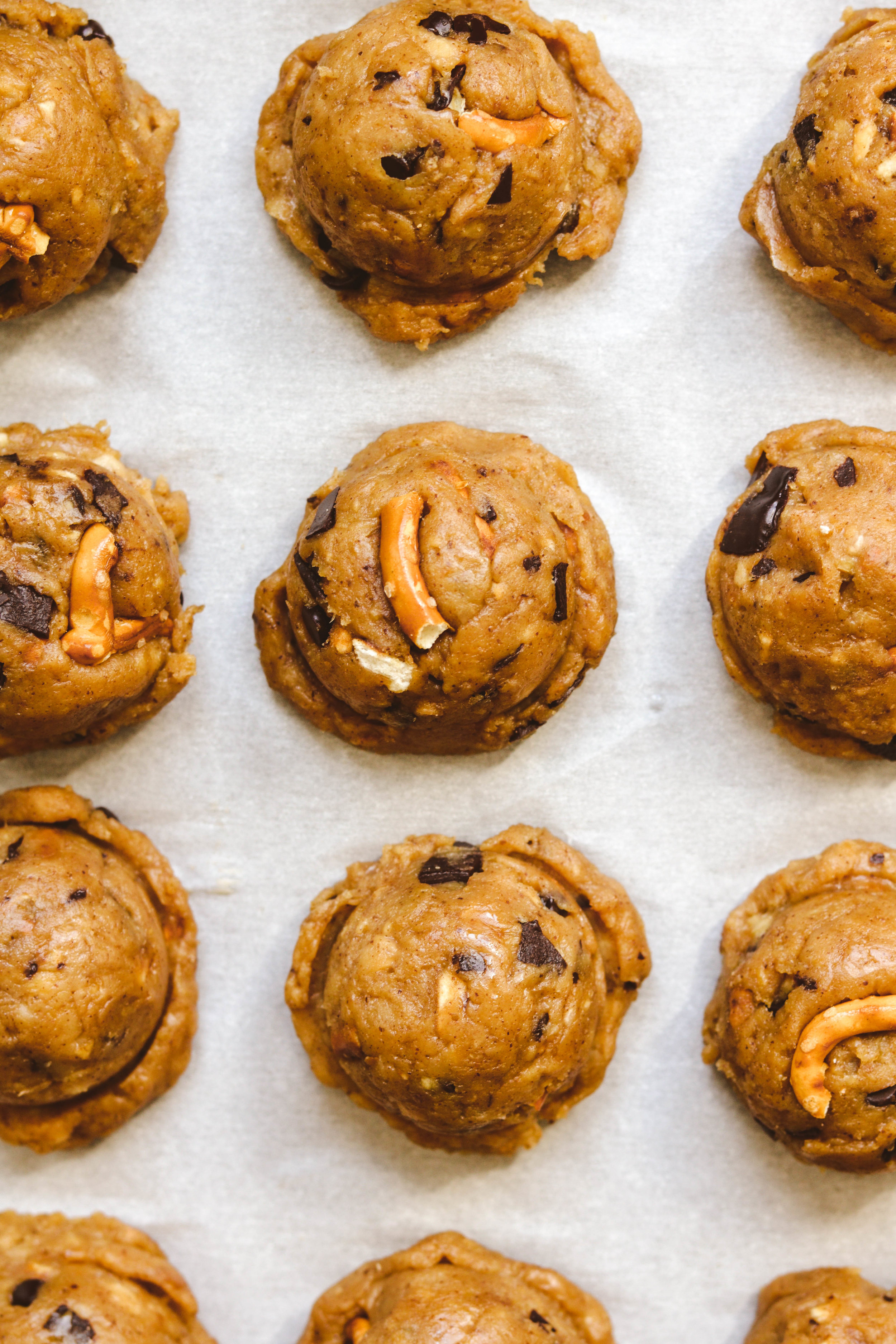 Chocolate Chip Chickpea Cookies method