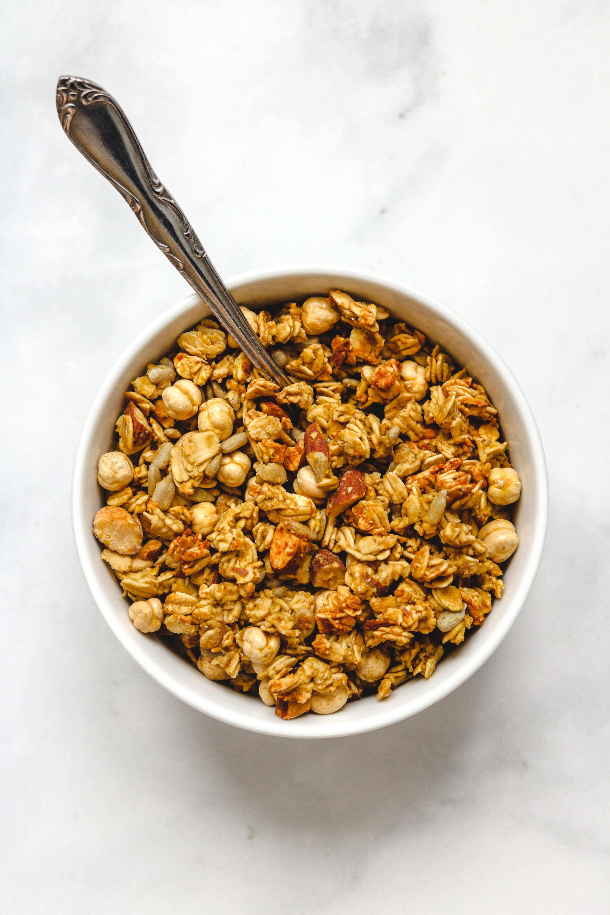 savoury vegan granola