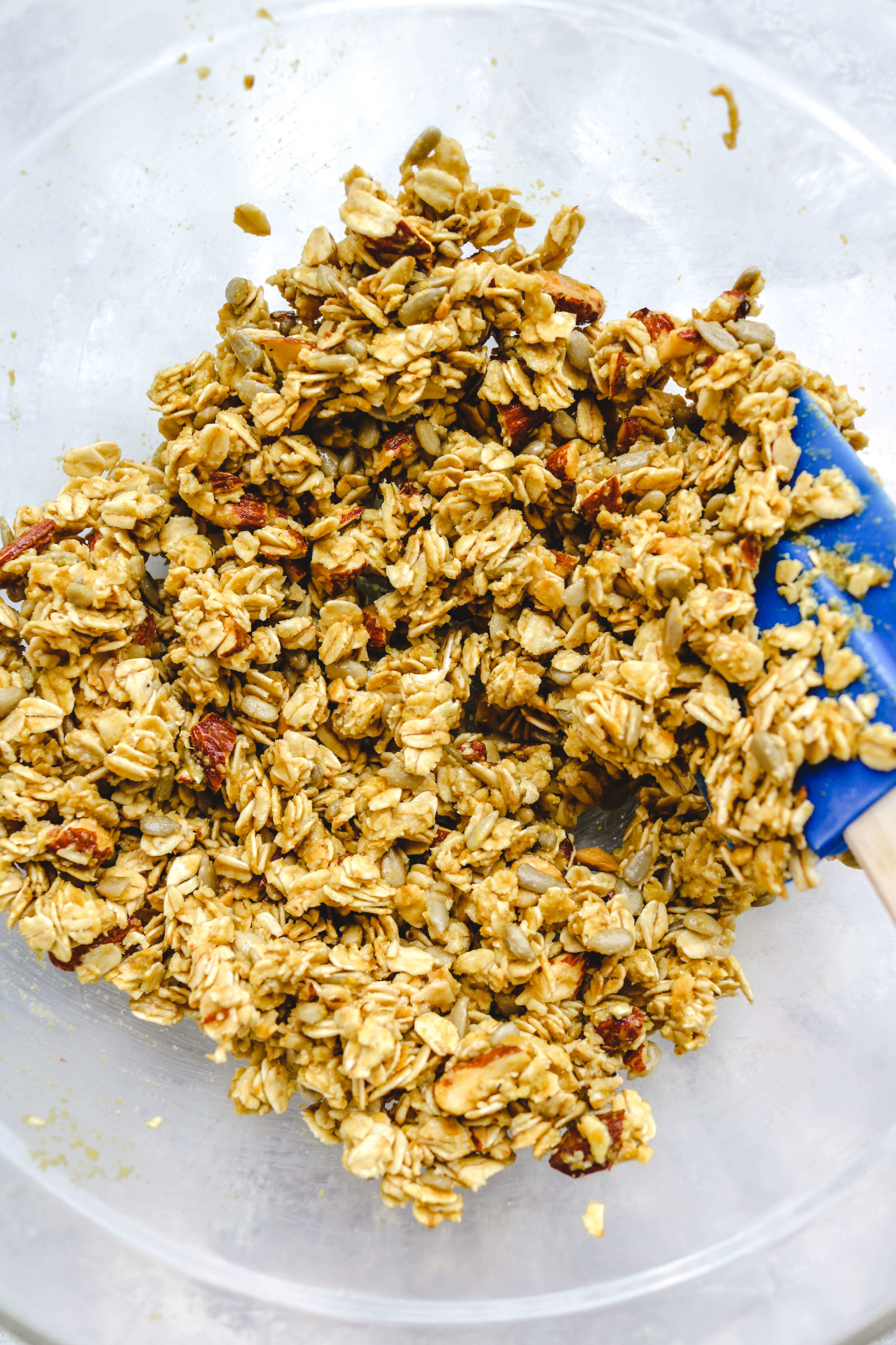 savoury cheese granola