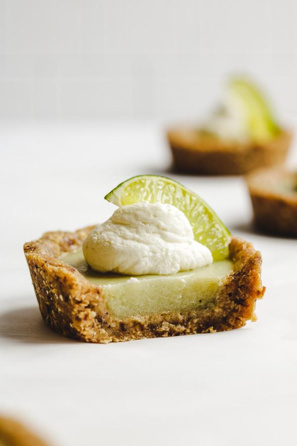 mini key lime pies bite shot