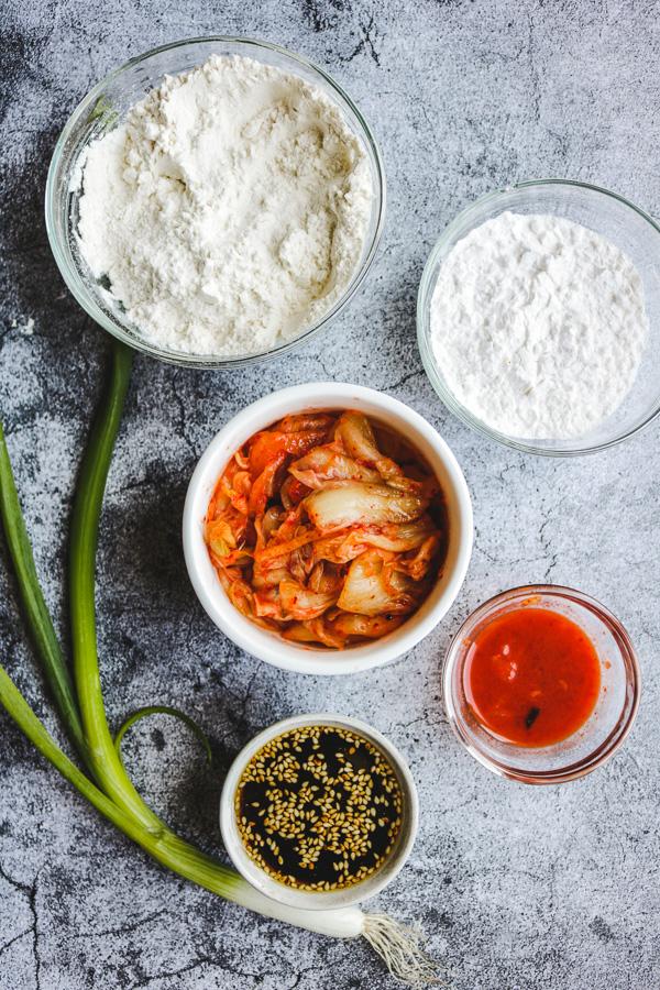 kimchi pancake ingredients