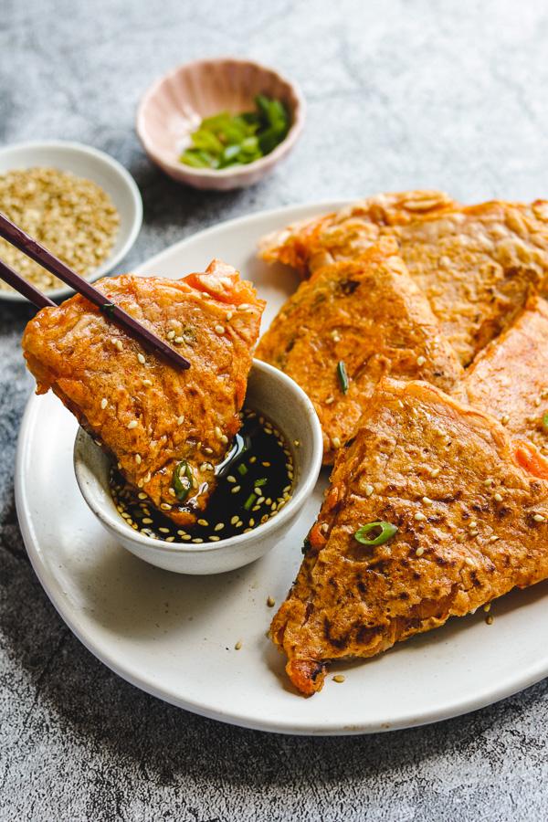 kimchi pancake dipping sauce