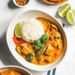 vegan mango coconut curry