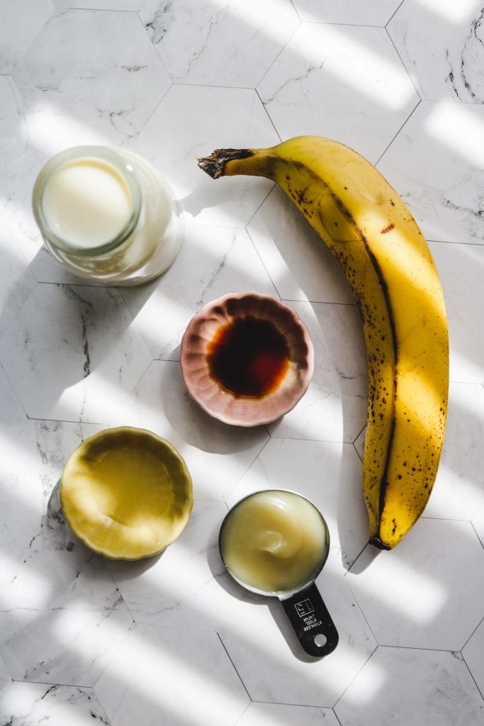 dairy free korean banana milkm ingredients
