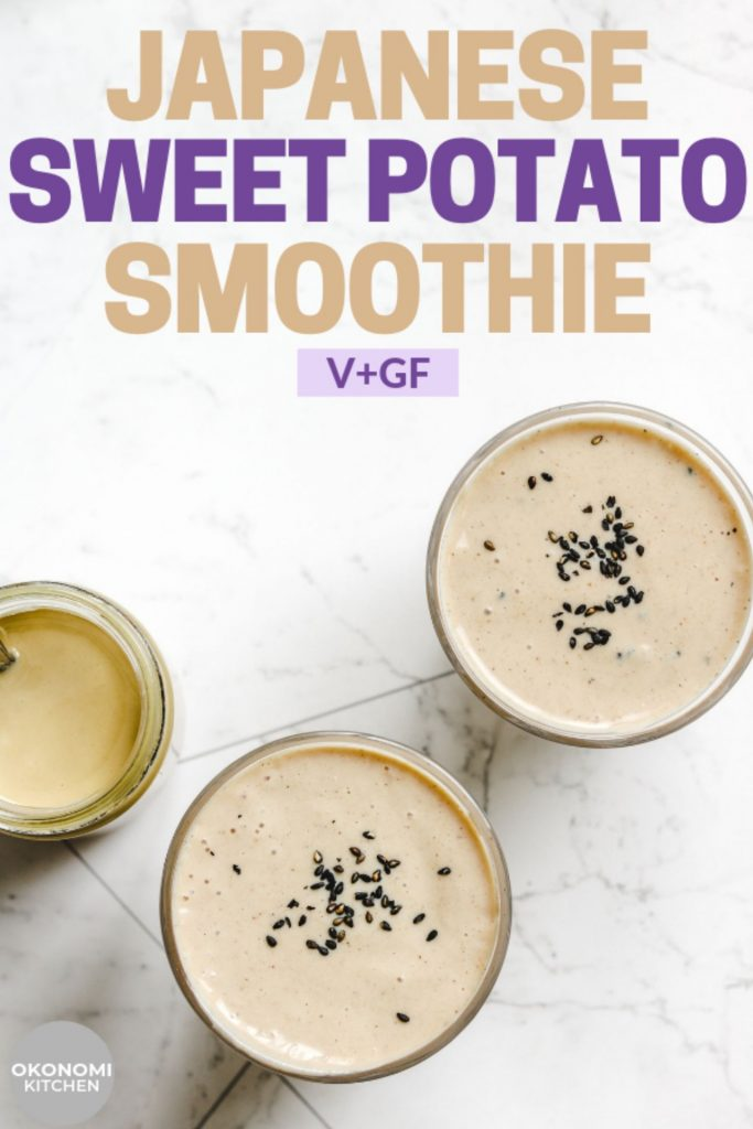 tahini sweet potato smoothie recipe