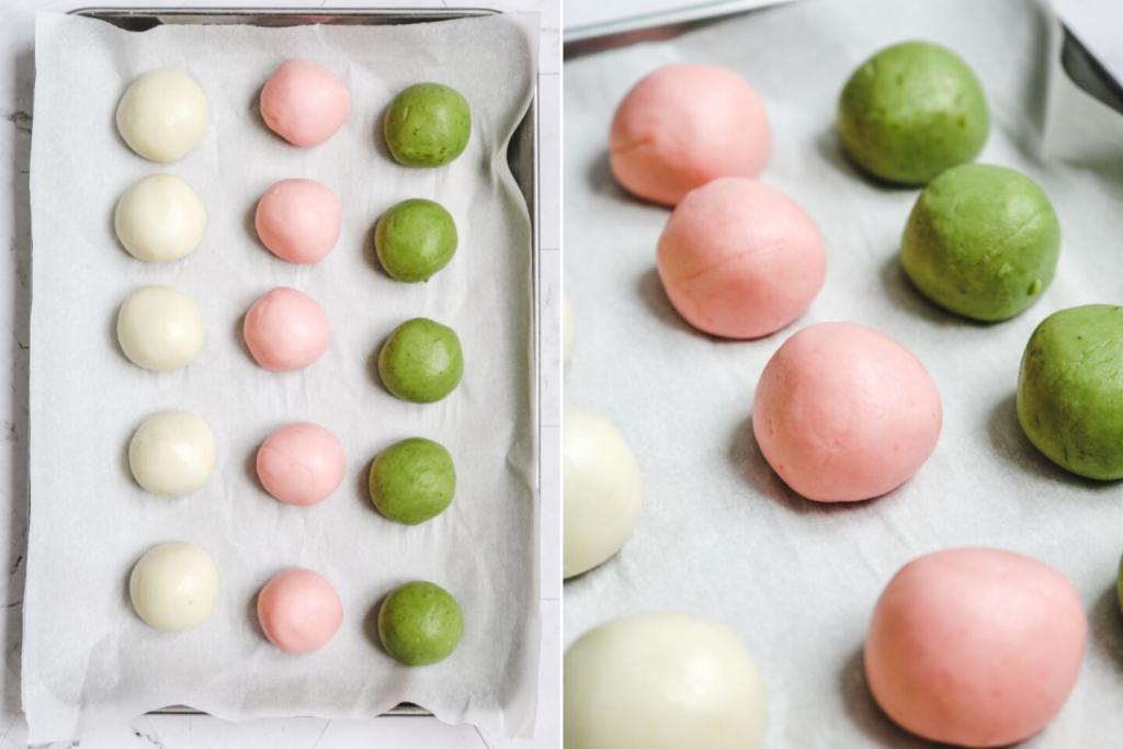 dango dough balls