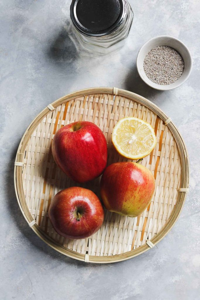 apple chia jam ingredients
