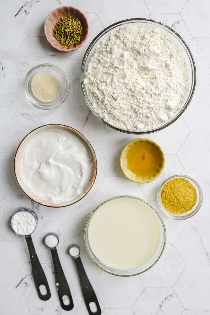 tall fluffy vegan gluten free biscuits ingredients
