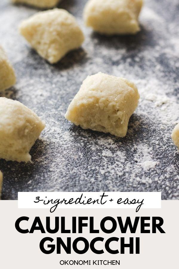 cauliflower gnocchi pinterest image