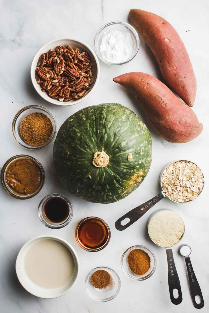 vegan kabocha sweet potato casserole ingredients