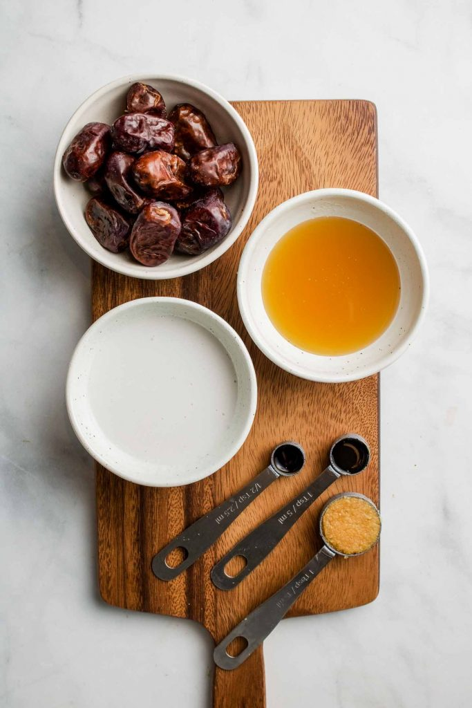 salted date caramel sauce ingredients