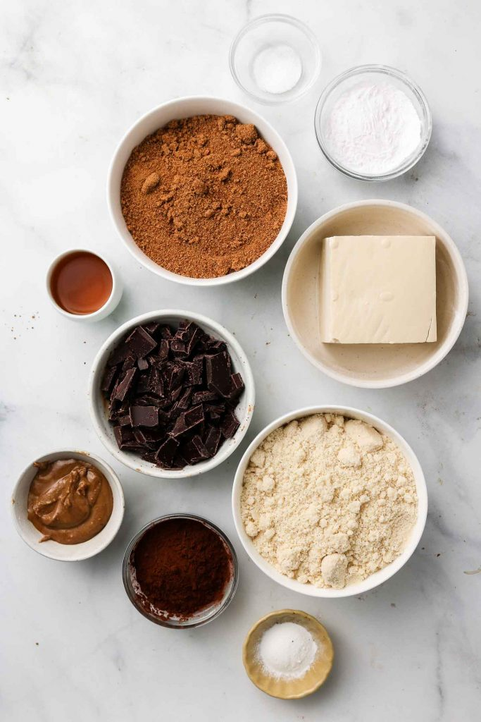 vegan flourless chocolate rum cake ingredients