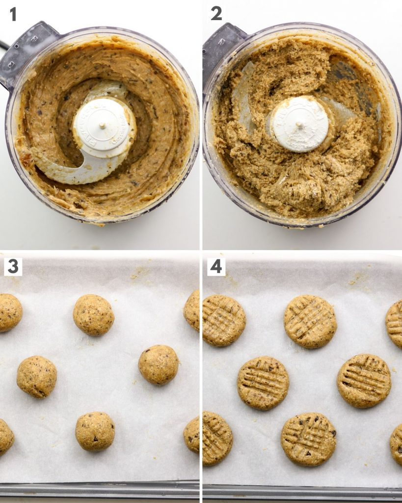how to make date sweetened vegan peanut butter cookies