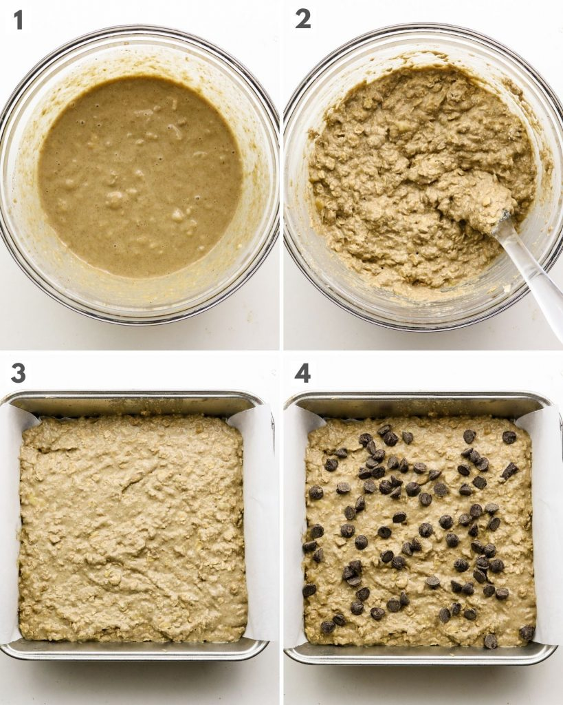 how to make breakfast oatmeal bars