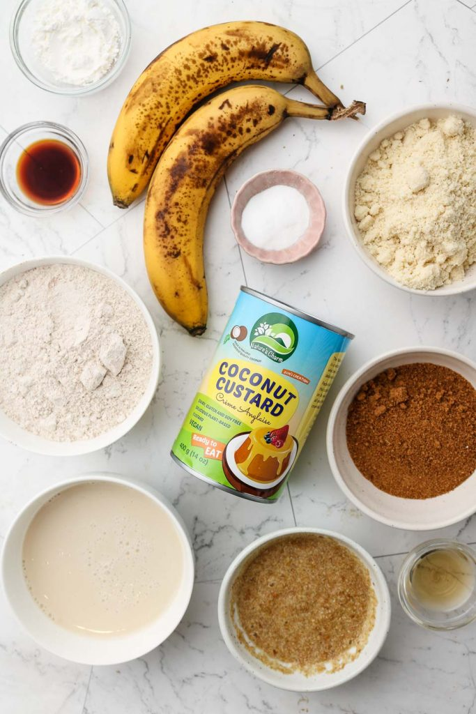banana snack cake ingredients