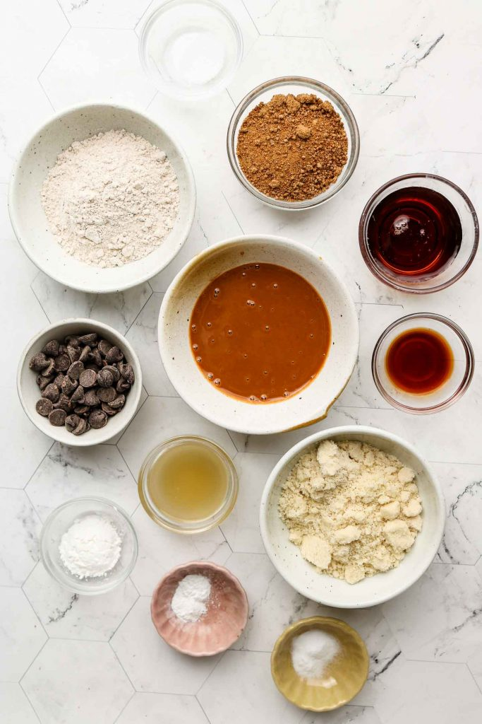 brown butter chocolate chip cookie ingredients