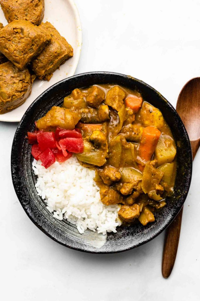 Japanese Curry Cubes Vegan Gluten Free Okonomi Kitchen