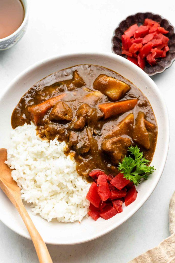 Authentic Vegan Japanese Curry Gluten Free Okonomi Kitchen