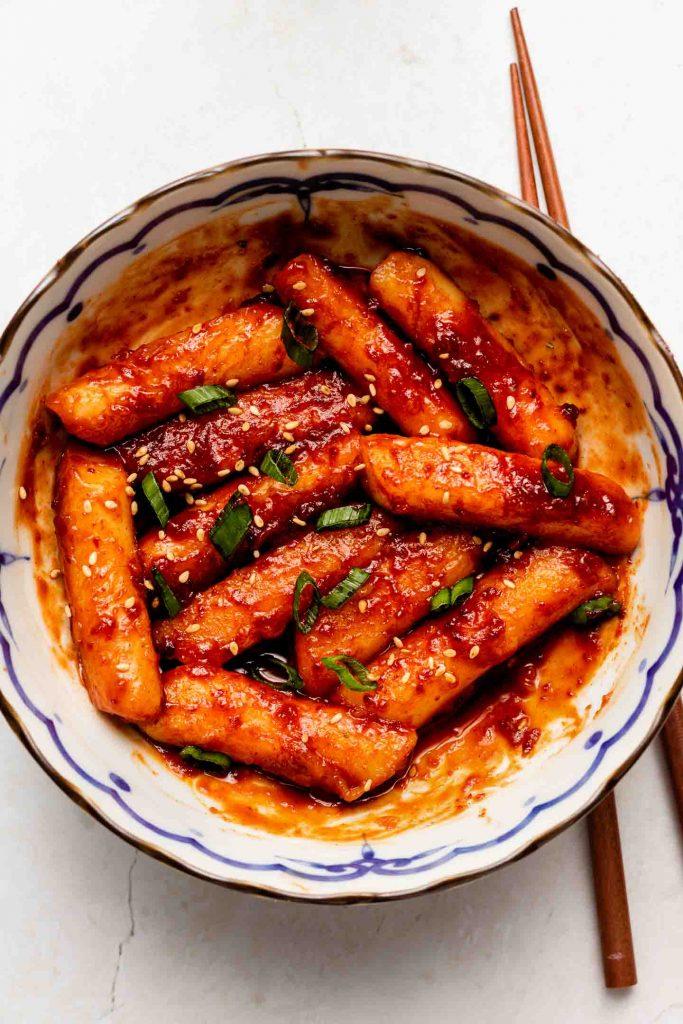 Pan Fried Tteokbokki 떡볶이 Okonomi Kitchen